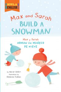 Max and Sarah Build a Snowman Cover