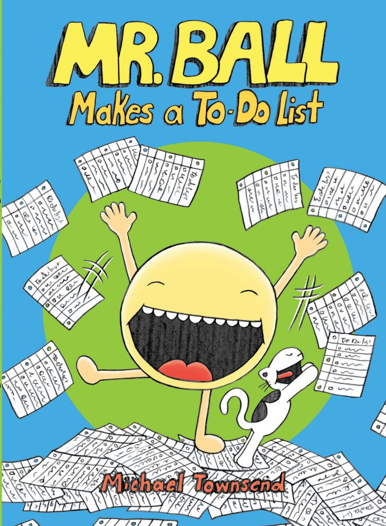 Mr. Ball Makes a To-Do List Cover