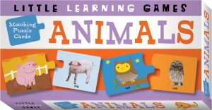 Matching Puzzle Cards Animals Cover