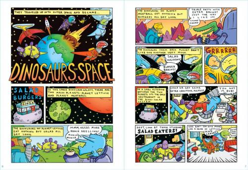 Dinosaurs in Space Out of the World Interior4
