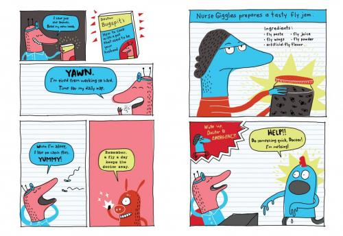 Odd Creatures Pages16