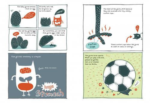 Odd Creatures Pages4