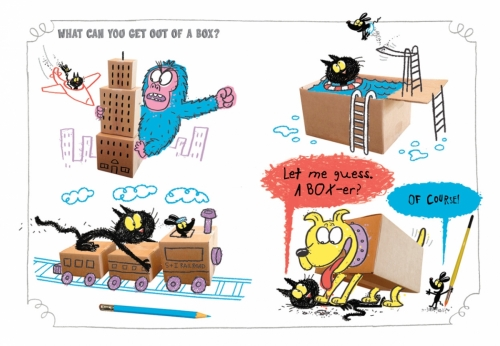 Scribbles and Ink Out of the Box Interior35